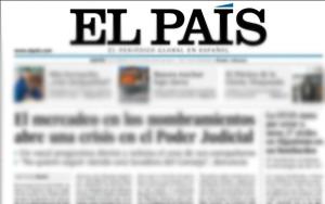 Carta a 'El País'