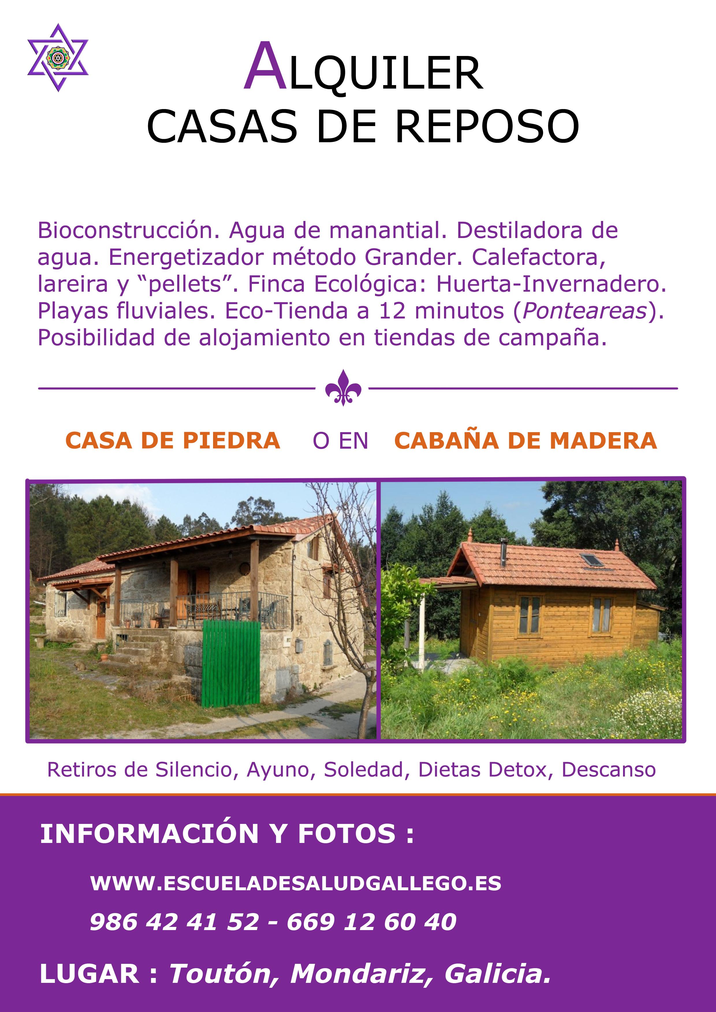 Alquiler casas de reposo escuela de salud gallego for Alquiler casa en umbrete sevilla
