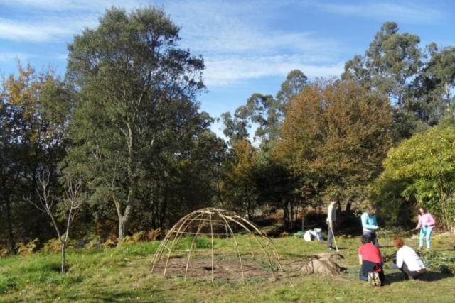 Quinta da Calma:  Ceremonia de Temazkal